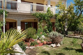Studio 2 with garden terrace Trogir