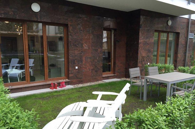 Newport Garten/Terrasse