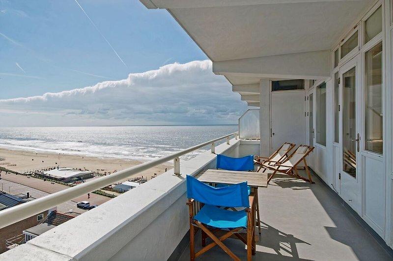 Genießen auf Ihren eigenen Terrasse (20 m2) von der Nordsee.