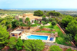 Meerblick Villa S'Horta 3930 + Pool