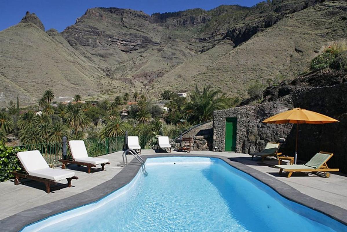 Agaete 5003 per 10 persone piscina casa vacanze in for Piscinas de agaete