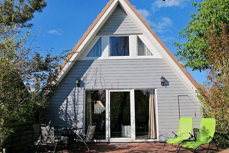 Ihr Ferienhaus: Ansicht aus dem Garten