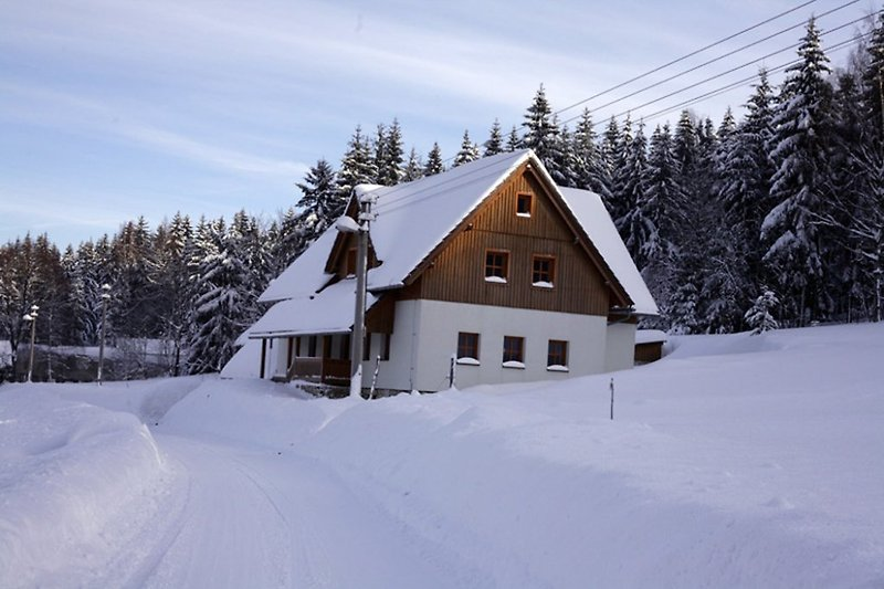 Holiday Home Amalka in winter