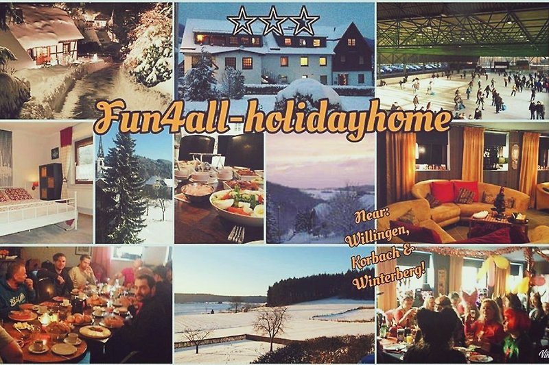 Wintertime fun4all-holidayhome