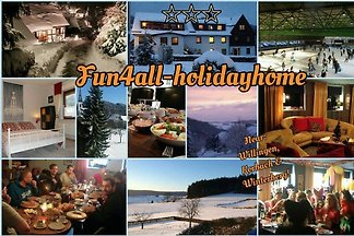 Fun4all-holidayhome,10-14 or 15-22p