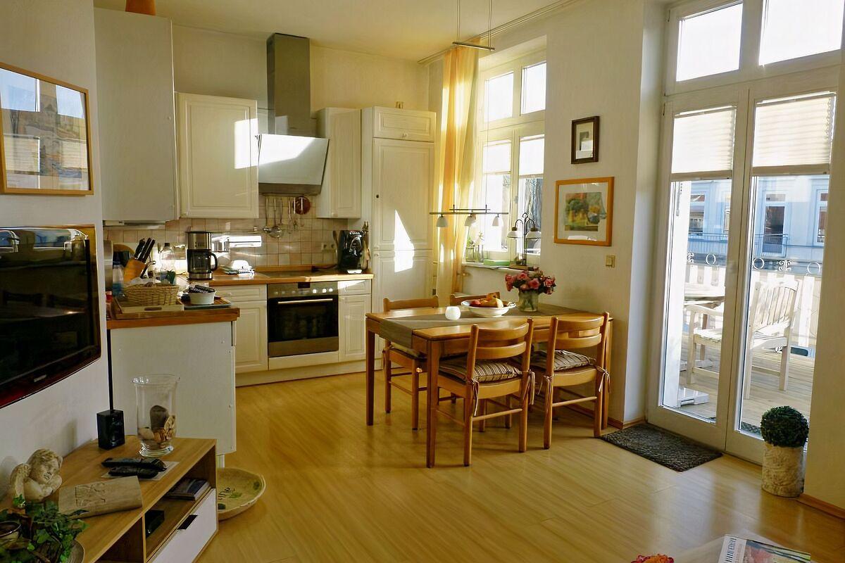 ostseedomizil rader ferienwohnung in warnem nde mieten. Black Bedroom Furniture Sets. Home Design Ideas