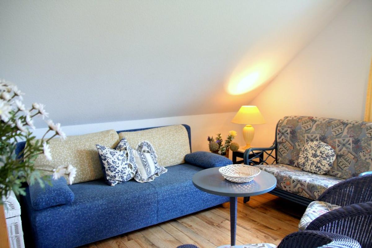 blue mit 2 schlafzimmer/2 bädern - ferienwohnung in lancken-granitz