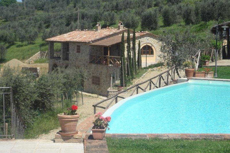 La casa dalla piscina