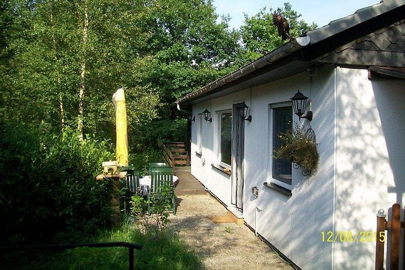 Das romantische Waldhaus Eulenland in Morsbach