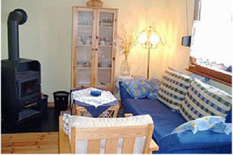 Die Sofa-Ecke im Wohnzimmer