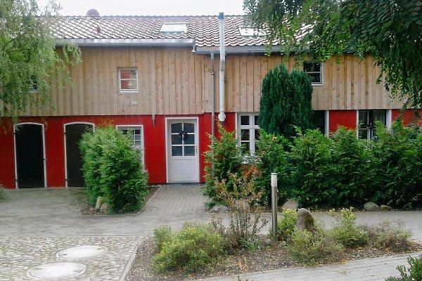 Ansicht Ferienhaus auf´m Hinterhof