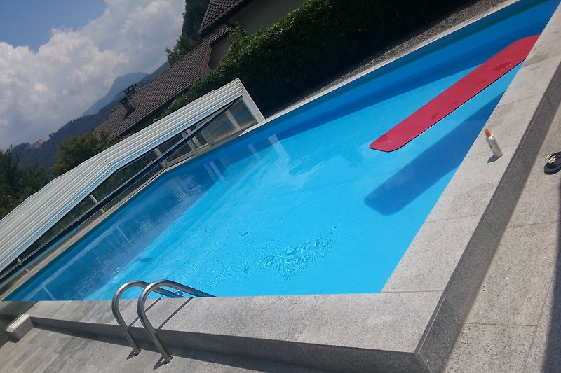 offener Pool