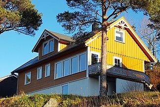 Ferienhaus mit Fjordblick