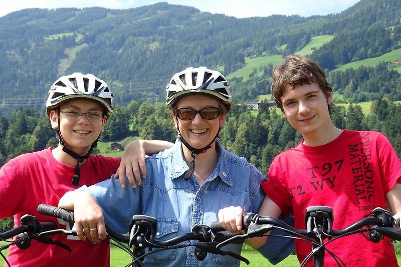 Radtour mit den E-Bikes