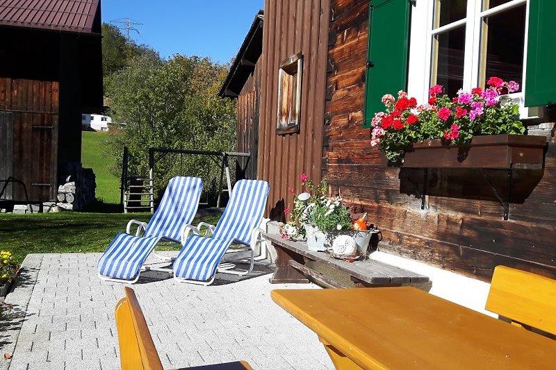 Terrasse Haus Bergfrieden