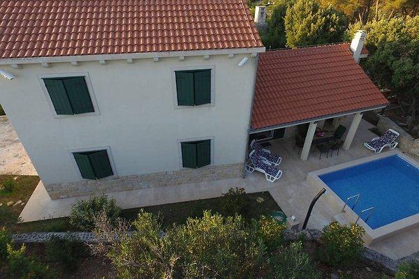 Neues charmantes haus mit pool brac ferienhaus in for Haus mit pool mieten