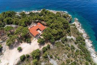 Robinson villa met privé strand