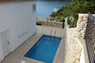 New house with pool, 50 m from sea