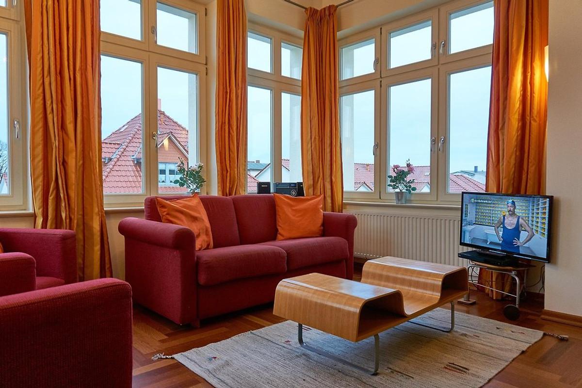 villa quisisana wohnung 7 ferienhaus in ahlbeck mieten. Black Bedroom Furniture Sets. Home Design Ideas