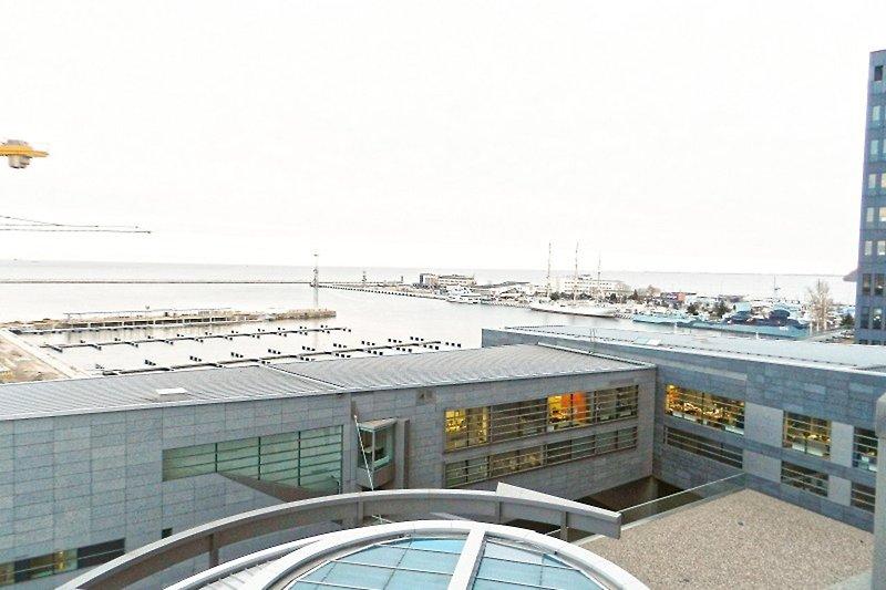 Blick am Hafen