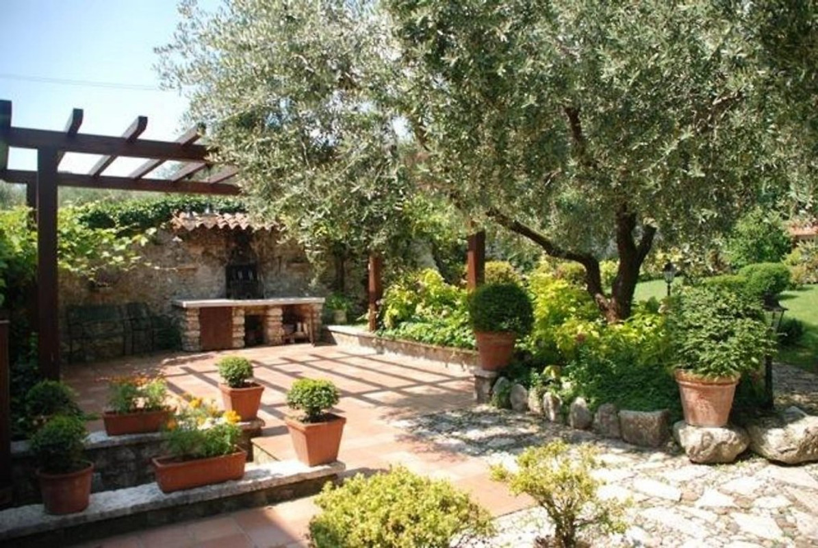 The Olive House Garden Holiday Home In Toscolano Maderno