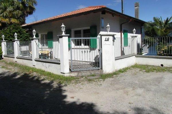 Eingang zur Casa Belvedere