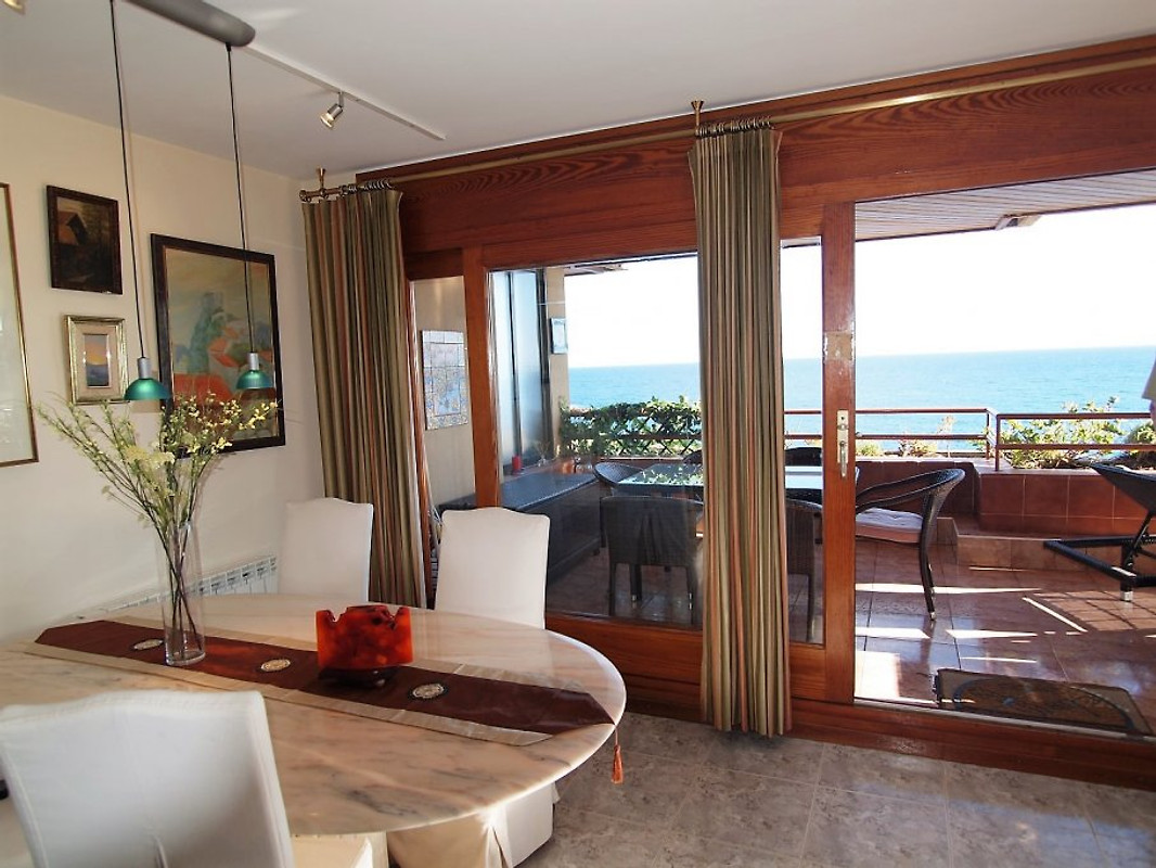 la illa ferienwohnung in tossa de mar mieten. Black Bedroom Furniture Sets. Home Design Ideas