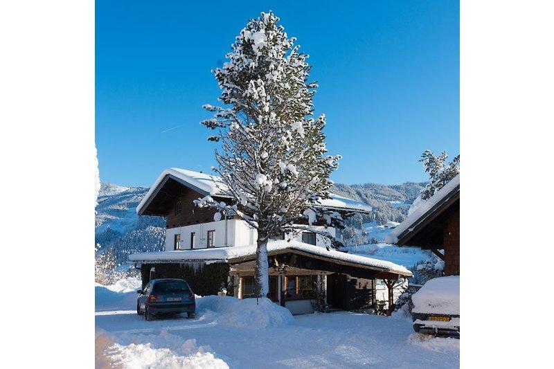 Eine wunderschönen Tag im Winter