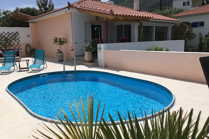 gemütliches Haus mit Pool