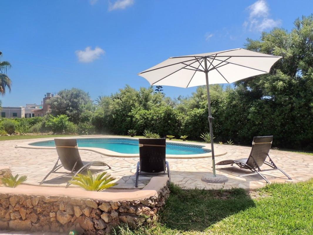 Finca avec piscine maison de vacances s 39 horta louer for Piscine 20eme