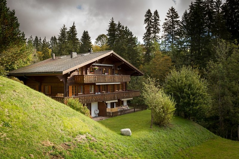Chalet from Outside