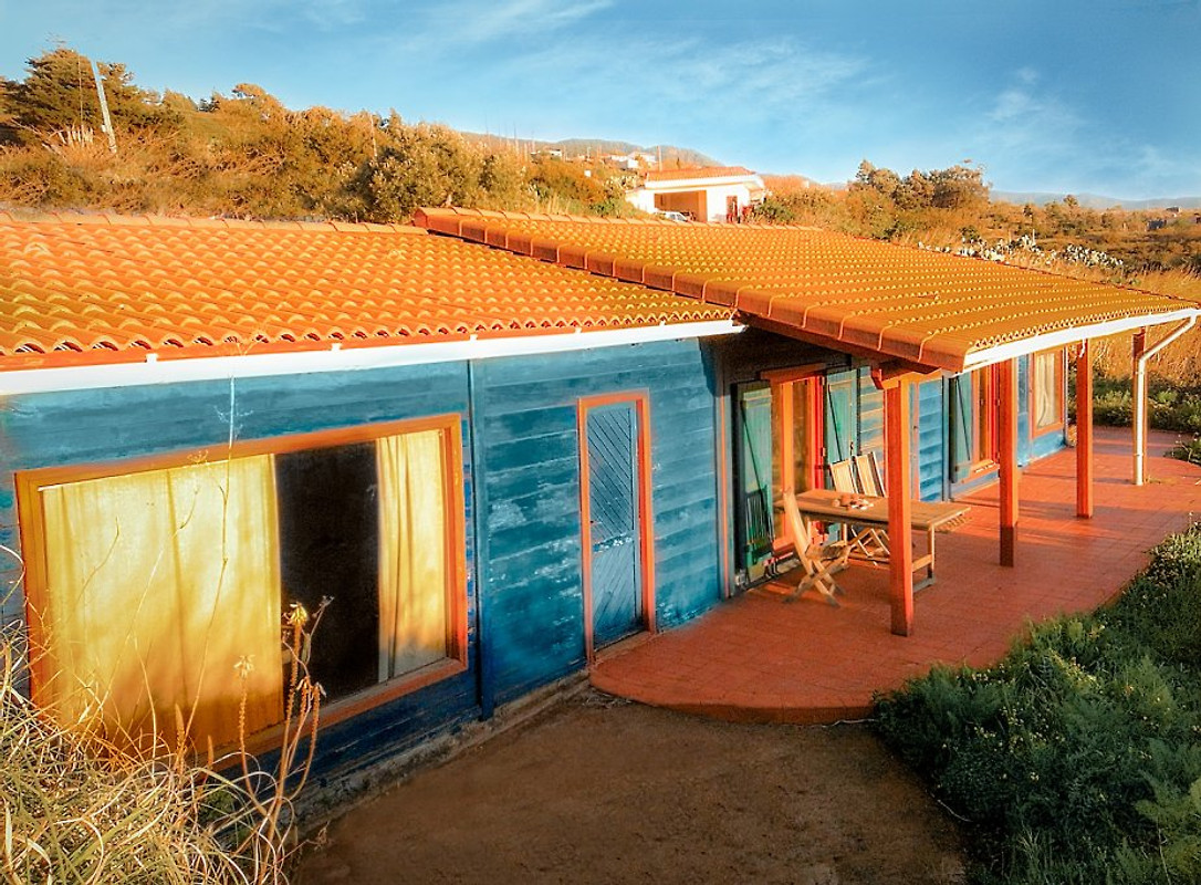 Natuur idyllische houten huis vakantiehuis in santa cruz huren - Centrale eiland prijzen ...