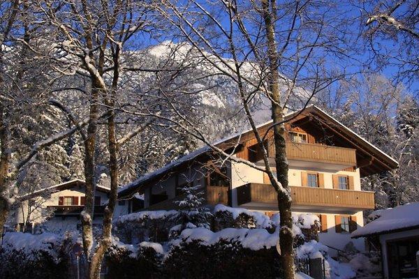 Haus Almhüttenweg im Winter