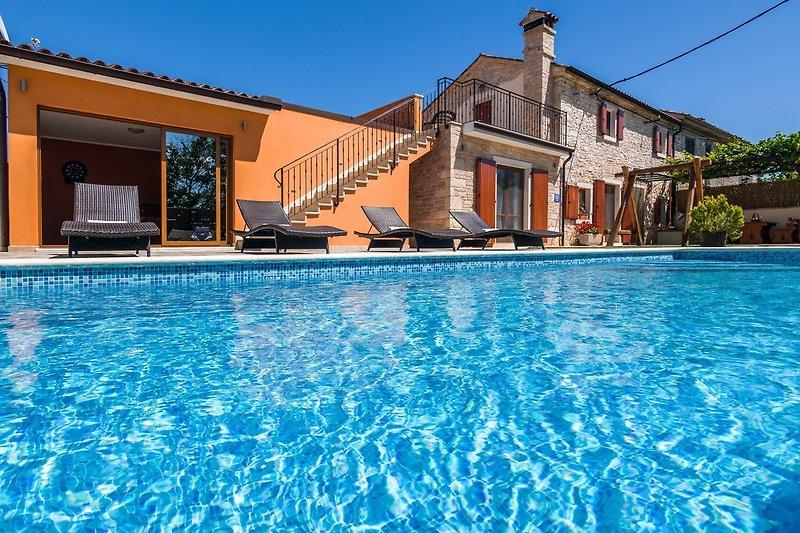 Villa Ivka Salzwasser pool