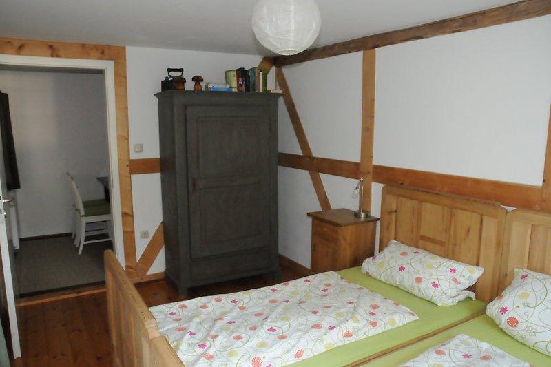 Schlafzimmer FeWo Doppelstockbett