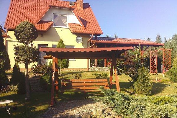 Widok domu z ogrodu