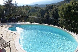 Apartment mit Meerblick und pool