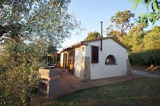 Komfortables Einfamilienhaus für 2 Personen,der perfekte Ort um die Toskana zu erkunden, 1 DZ, Küche mit Spül- und Waschmaschine, Wifi, Klimaanlage Terrasse BBQ