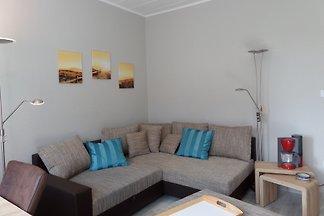 Eine gemütliche Ferienwohnung für zwei Personen. Freuen Sie sich unter anderen auf den 20 m² großen Balkon.