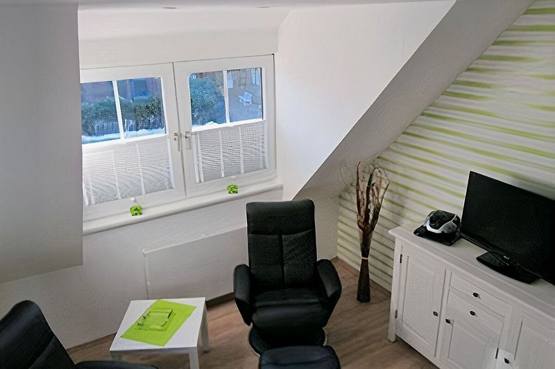 Wohnzimmer mit Relaxsessel