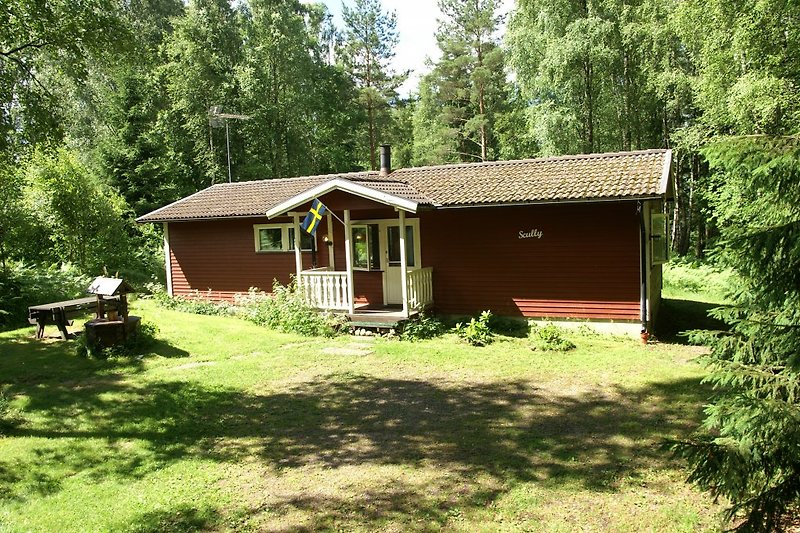 Scully-Haus im Wald