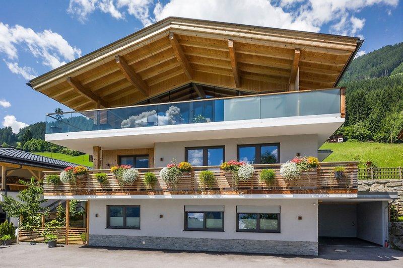 Allpenchalet-Zillertal-Sommer