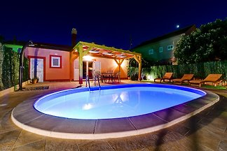 Villa Orange con piscina climatizada