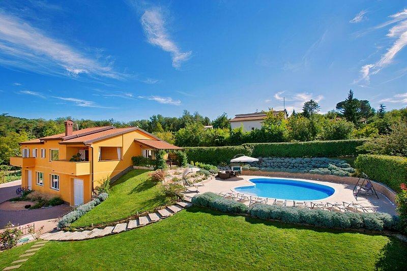 Villa Diora in Istrien in Motovun - Bild 2