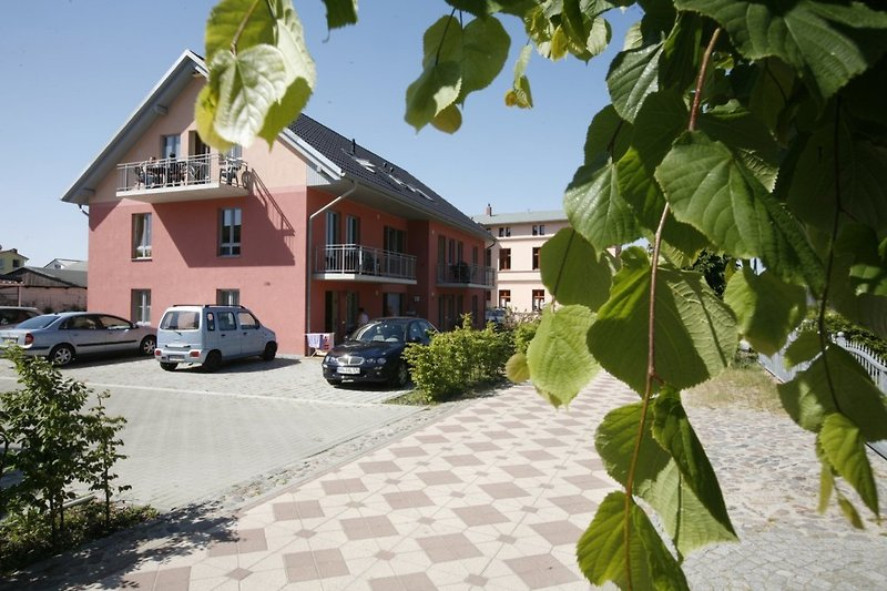 Das Appartementhaus Clara