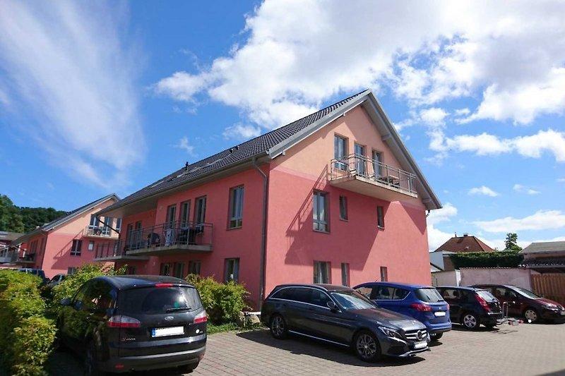Die Appartementhäuser Clara+Grete