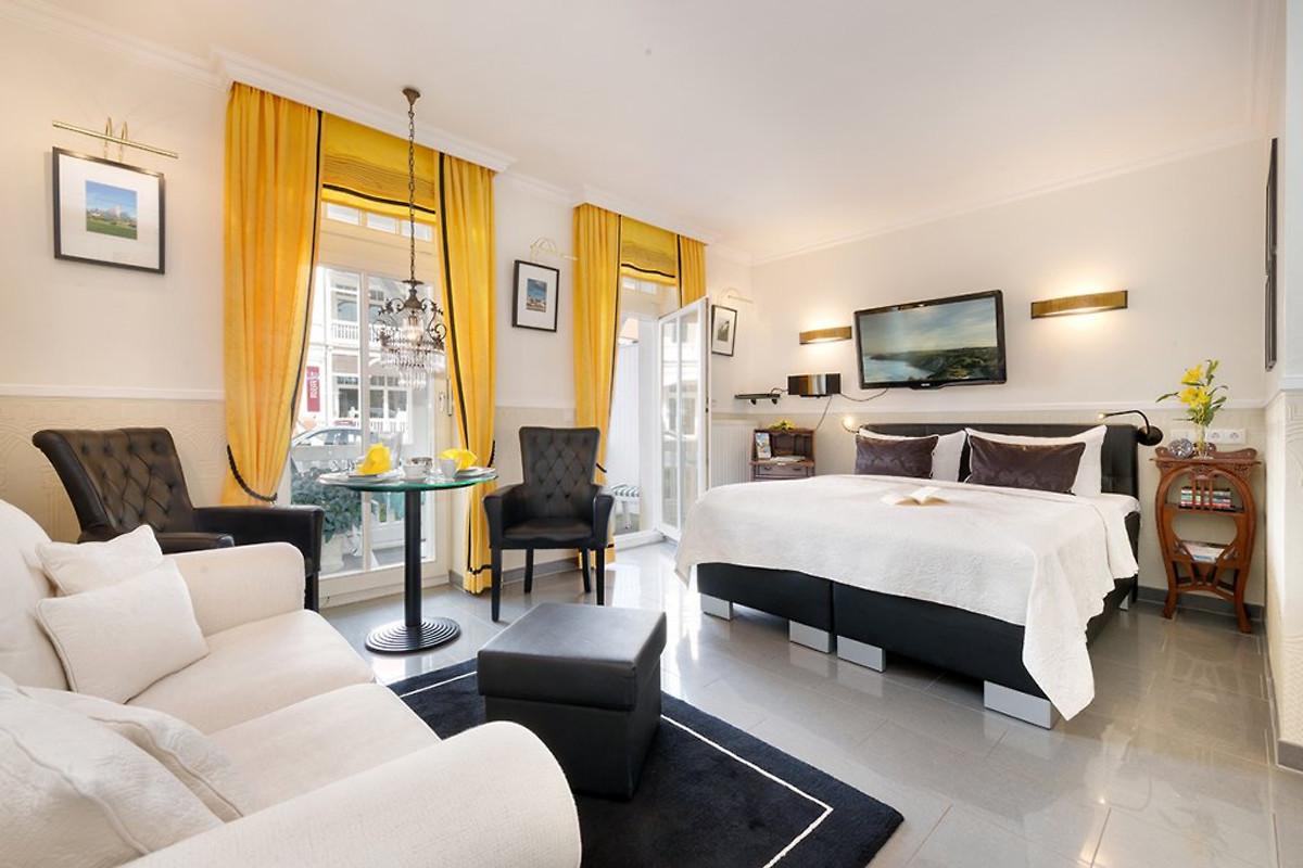 Villa Jugendglück - Gelbe Rose - 5* - Ferienwohnung in Binz mieten