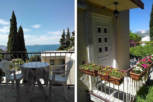 Balkon mit Meeresblick & Eingang