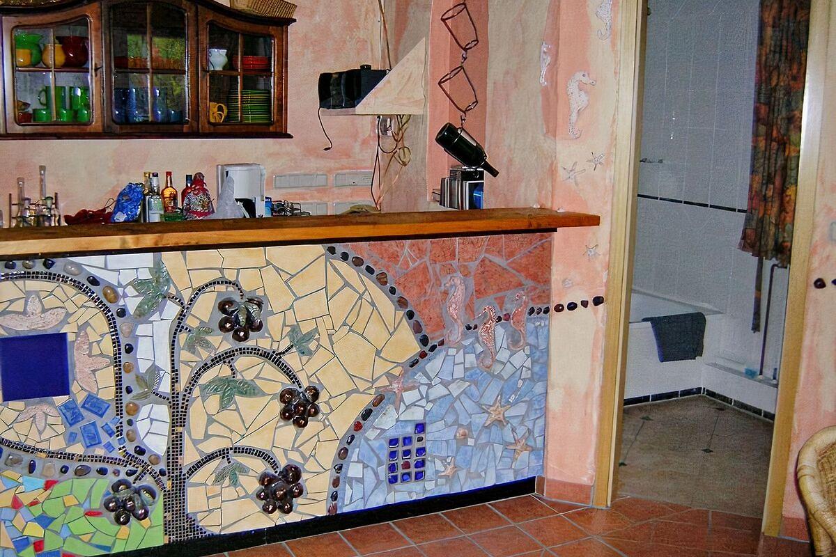 k nstleratelier im garten ferienhaus in duisburg mieten. Black Bedroom Furniture Sets. Home Design Ideas