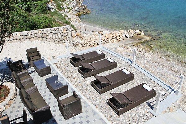 Villa sulla spiaggia casa vacanze in dubrovnik affittare for Piani casa sulla spiaggia